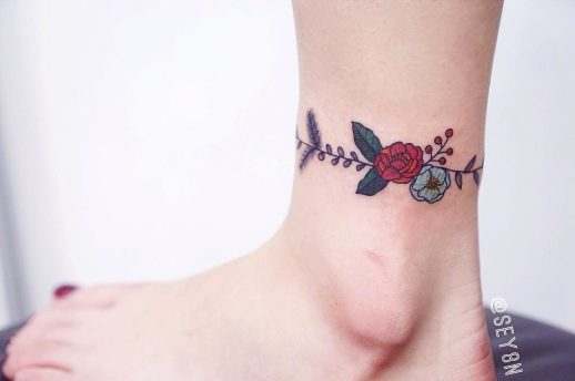 Brazalete de Flores