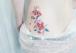 Flores silvestres por Banul 타투이스트 바늘
