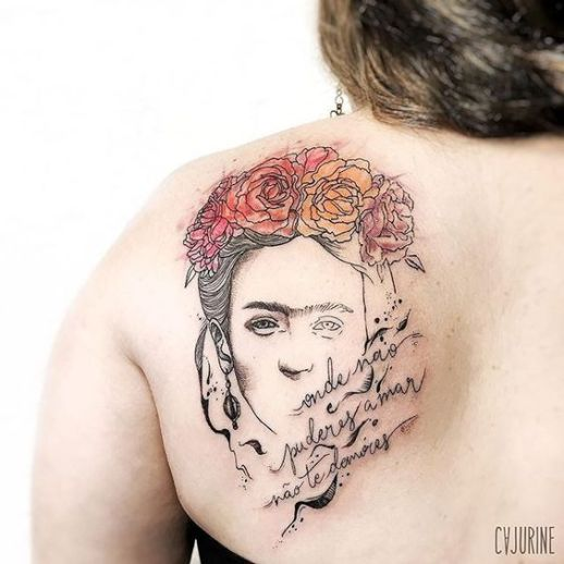 Frase: Donde no puedas amar, no te demores por Frida Khalo