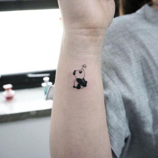 Pequeño Oso Panda
