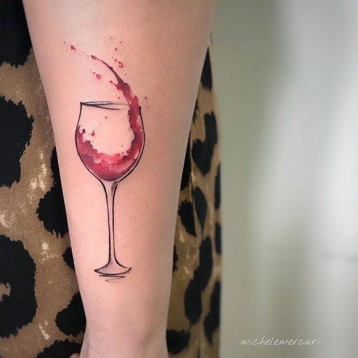 Copa de vino por Michele Mercuri