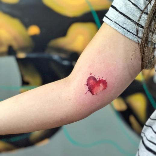 Corazón por LCjunior Tattoo