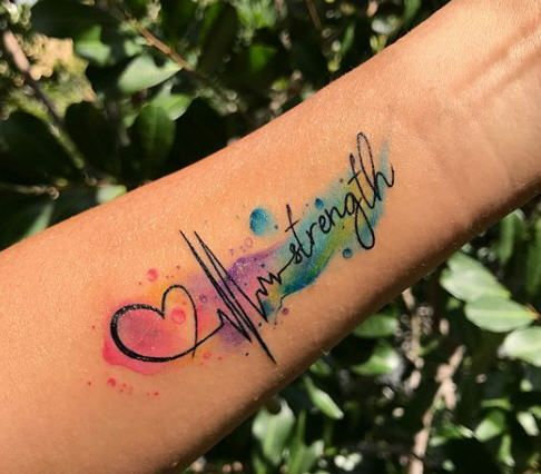Frase: Strength y Electrocardiograma