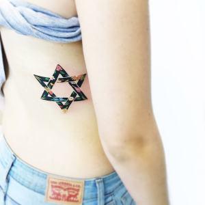 Estrella de David por Luiza Oliveira