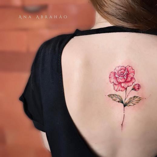 Flor por Ana Abrahão