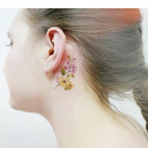 Flores por Banul 타투이스트 바늘