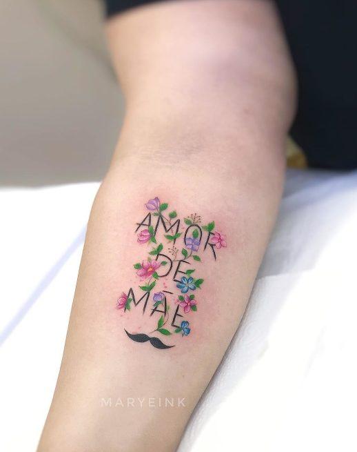Frase: Amor de Mãe por Mary Ellen Maryeink