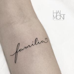 Frase: Familia por Lucas Halmont