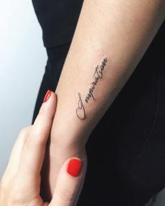 Frase: Inspiration por Nora Ink