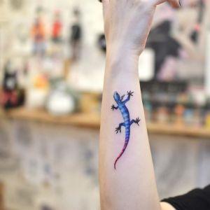 Lagartija por Tattooist Grain