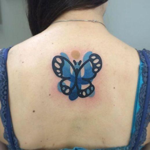 Mariposa por Mambo Tattooer