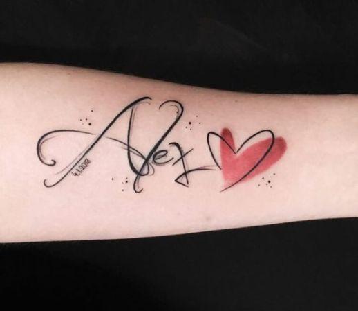 Nombre: Alex, corazón