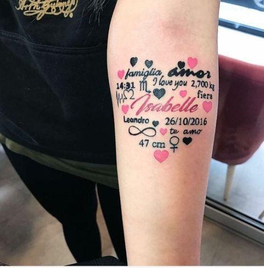 Nombre: Isabelle y frases de amor dentro del corazón