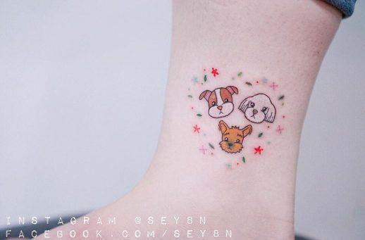 Amor por los perros por Seyoon Gim