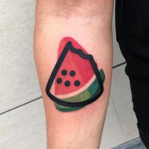 Sandia por Mambo Tattooer