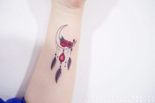 Atrapasueños de luna por Seyoon Kim / 김세윤 (@sey8n)