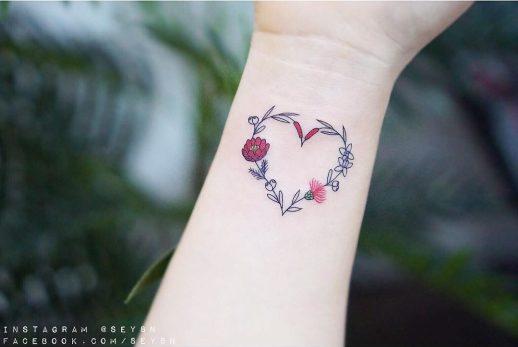 Corazón de flores por Seyoon Kim / 김세윤 (@sey8n)
