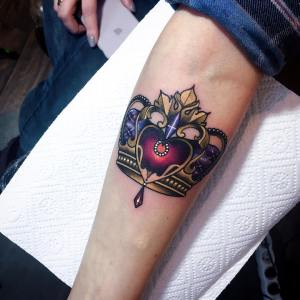 Corona corazón por Olie Siiz