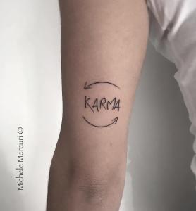 Frase: Karma por Michele Mercuri