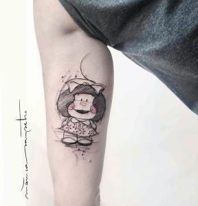 Mafalda por Mònica Sampietro