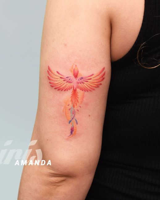 Ave Fénix por Iris Tattoo