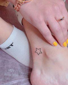 Estrella por Risha Tattoo