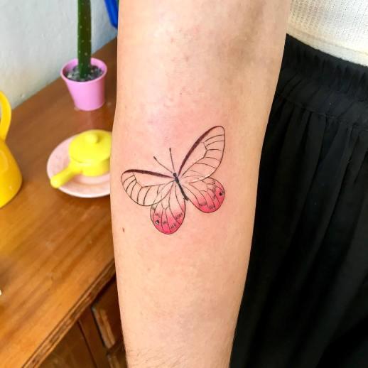 Mariposa por Luciana Periard Art Efeito