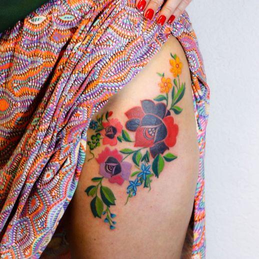 Flores por Yasmin Coiado