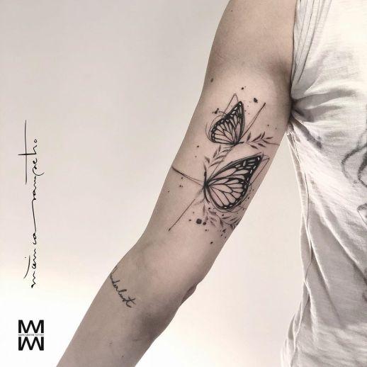 Mariposas por Mònica Sampietro