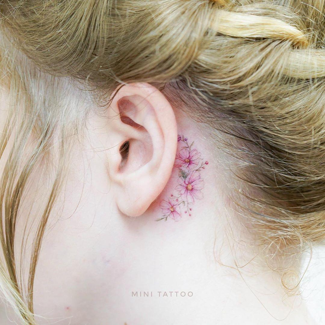 Ramillete de flores por Mini Tattoo