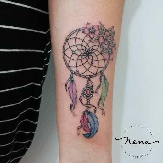 Atrapasueños por Nena Tattoo Diana Opazo