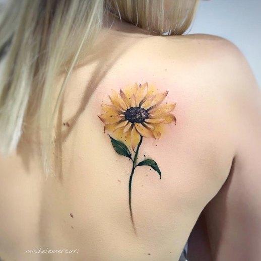 Flor de girasol por Michele Mercuri