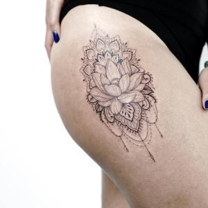 Flor de loto por Rachael Ainsworth