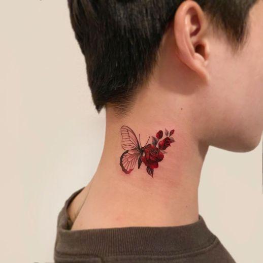 Metamorfosis de una mariposa por Dahong Muse