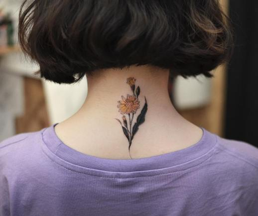 Ramito de flores por Tattooist Grain