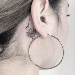Flor girasol por Blum