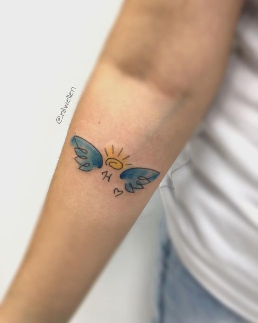 Ángel por Nil Tattoo