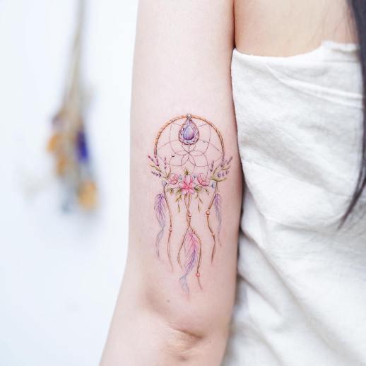 Atrapasueños por Mini Tattoo