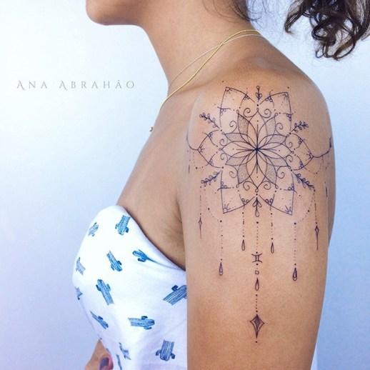 Mandala por Ana Abrahão