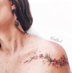 Enredadera de flores por Luiza Oliveira