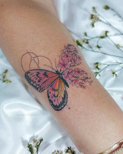 Metamorfosis de una mariposa por Jacke Michaelsen