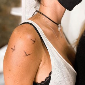 Aves por July Tattooer