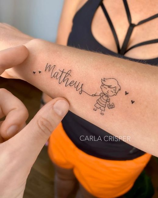 Nombre: Matheus por Carla Crisper