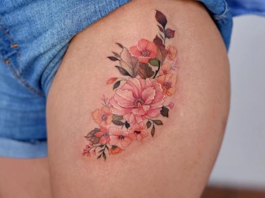 Ramillete de Flores por María Fernanda Ramírez