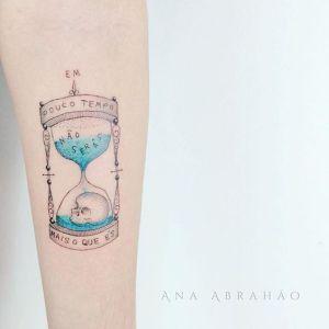 Reloj de arena por Ana Abrahão