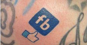 tatuaje facebook