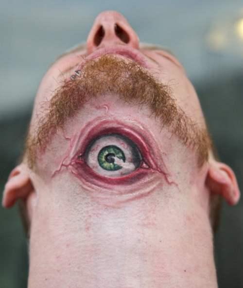 tatuaje de un ojo
