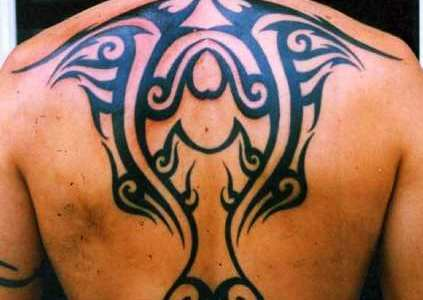tribal espalda grande