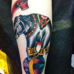 Tattoo elefante