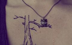 tatuaje árbol